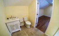 garage addition, apartment bathroom